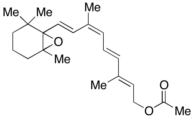 CAS#NA 9-cis-5,6-Epoxy Retinol Acetate 1mg