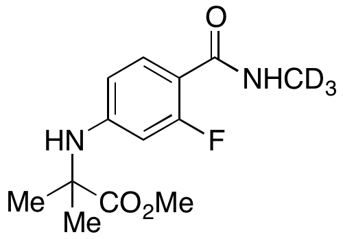 CAS#NA N-[3-Fluoro-4-[(methylamino)carbonyl]phenyl