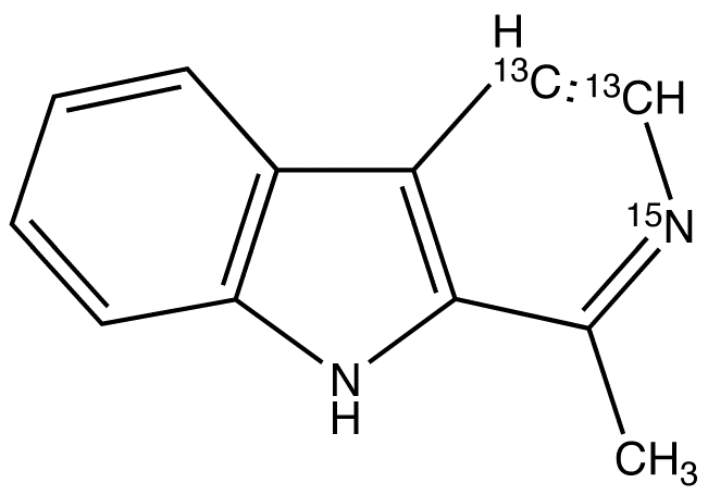CAS#1189461-56-0 Harman-13C2,15N 1mg