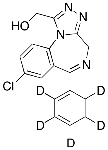 CAS#136765-24-7 1-Hydroxy Alprazolam-d5 1mg