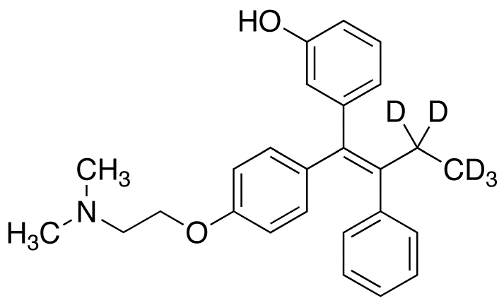 CAS#1185245-32-2 (E)-3-Hydroxy Tamoxifen-d5 1mg