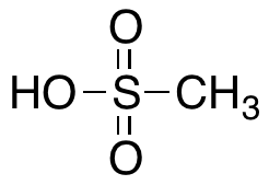 CAS#75-75-2 Methanesulfonic Acid 100ml