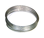 Tubing, 1/8 in. (3.2mm) O.D.  X 0.093 in. (2.36 mm) I.D.  X 10 ft  (3.0 m) Length , Stainless Steel