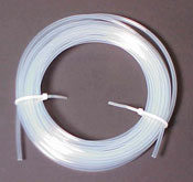 Tubing, 1/4 in. (6.4mm) O.D.  X 0.19 in. (4.83 mm) I.D.  X 10 ft  (3.0 m) Length , PTFE